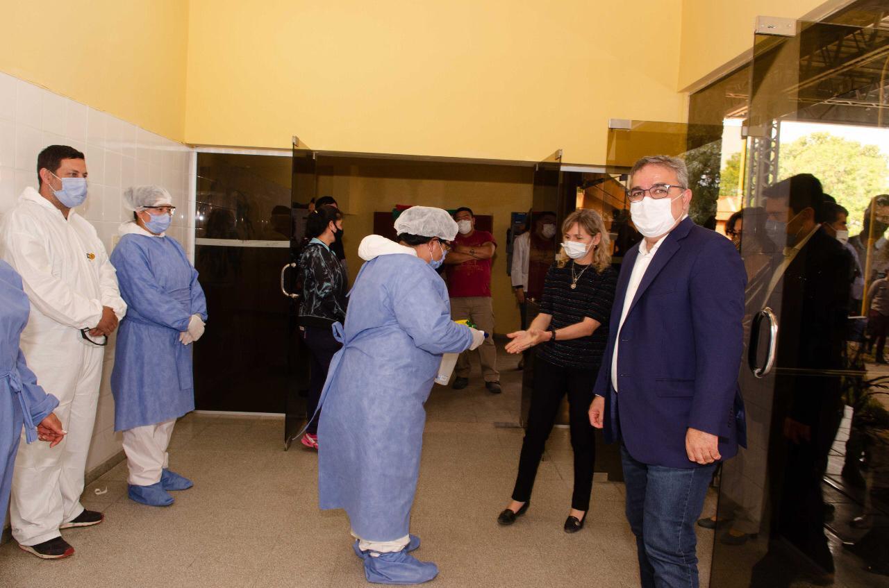 Jalil inaugura obras hospital Piedra Blanca 1