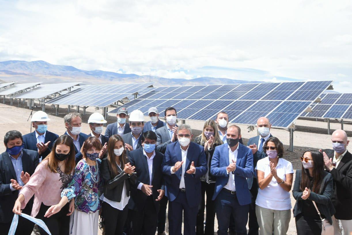Inauguración Parque Solar en El Peñón (1)